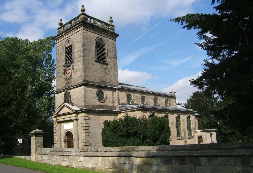 Image showing St Mary's Church, Ingestre